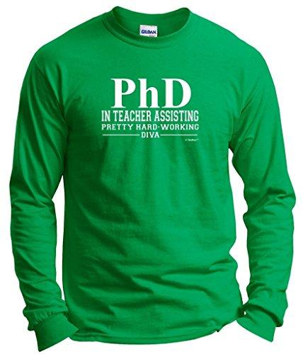 Teacher Assistant Pretty Working T Shirt