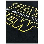 Pew Pew Wars | Funny Sci-fi Space Star Noises Science for Geek Men Women T-Shirt