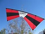 Revolution EXP Quad Line Stunt Kite Red Black Made in the USA