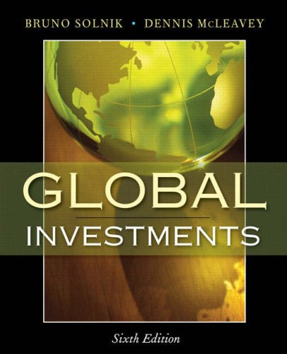 Global Investments (6th Edition)