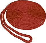 SeaSense Double Braid MFP Dock Line, 3/8-Inch X 15-Foot, Red