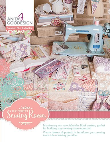 Anita Goodesign Embroidery Designs - Perfect Sewing Room - Premium Plus Collection