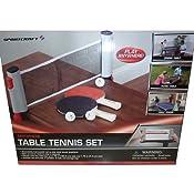 Amazon.com : Sportcraft Anywhere Table Tennis Set : Table Top Tennis ...