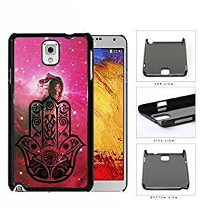 Colorful Hamsa Hand Nebula Series Hard Snap on Cell Phone Case Cover Samsung Galaxy Note 3 N9000 (horse)