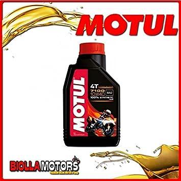 Motul18 – Bote de 1 litro de aceite Motul 7100 4T 10W40 100 ...