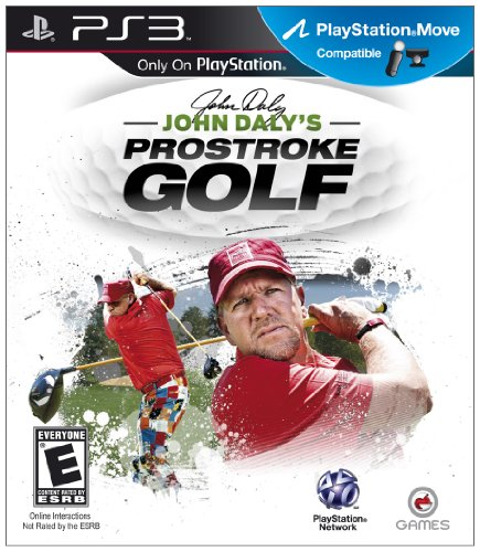 John Daly's ProStroke Golf (Compatible with Move) - Playstation 3 from O-Games