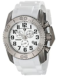 Swiss Legend Men's 11876-TI-02 Commander Analog Display Swiss Quartz White Watch