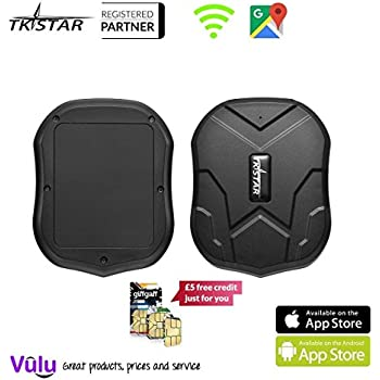 GPS Tracker Long Standby Car Locator GPS Tracker Free App Strong Magnet for Vehicle GPS Tracking Real Time Tracking Device Anti Lost Geo Fence Car Tracker for Cars SUV Motorcycles Trucks Vehicles XCSOURCE PS110