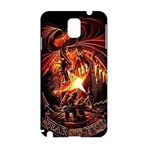 Firefighter Fear No Evil Dragons 3D Phone Case for Samsung Galaxy Note 3