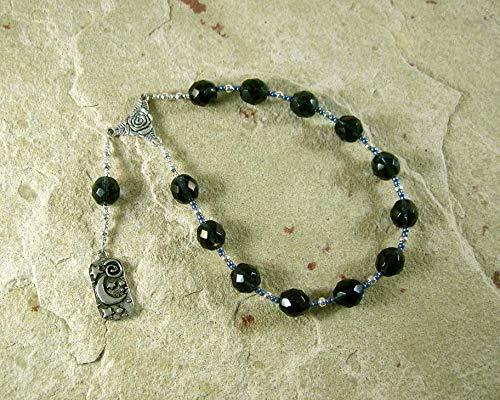 Nyx Pocket Prayer Beads: Greek Goddess of the Night