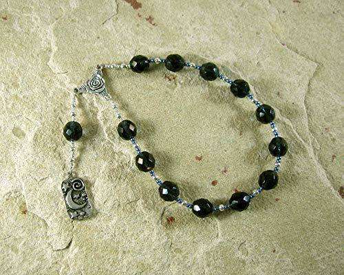 Nyx Pocket Prayer Beads: Greek Goddess of the - Goddess Prayer Beads