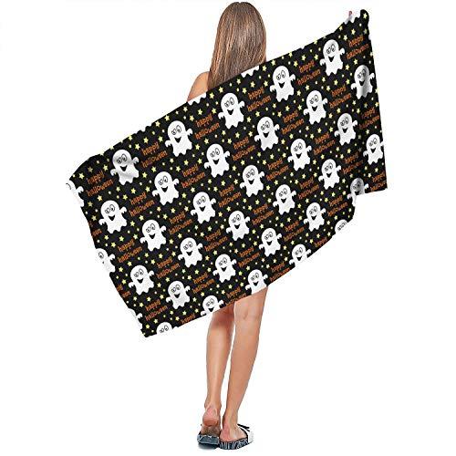 Horace Browne Halloween fantasmas Decor Multi-Function Bath Towel Beach Towel 27.6x55 inches -