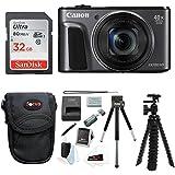 Canon PowerShot SX720 HS Digital Camera w/32GB SD Card & Accessory Bundle