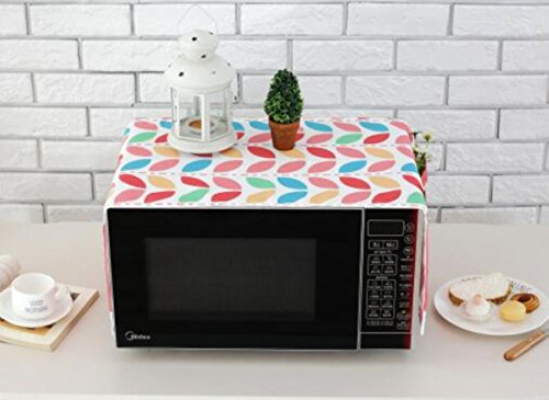 Polyester Fiber Household Pocket Microwave Oven Dust-Proof Cloth Cover (Style G) by lskitchen (Image #2)