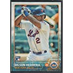 2015 Topps Dilson Herrera Mets Rookie Baseball Card #241