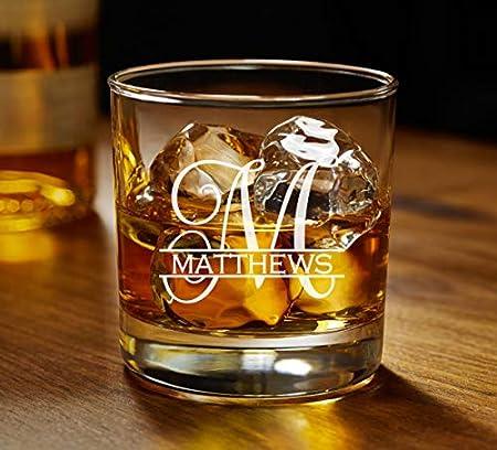 Lplpol Custom Rocks Glass   Whisky Glass   Scotch Glass   Regalo personalizado   Vidrio grabado   Vidrio personalizado   Vidrio de cóctel   Regalo para él