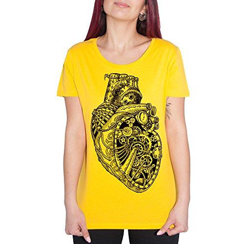 T-shirt Coeur mécanique–by Brain Factory