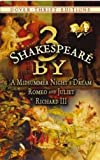 Image of 3 by Shakespeare: A Midsummer Night's Dream, Romeo and Juliet and Richard III (Dover Thrift Editions)