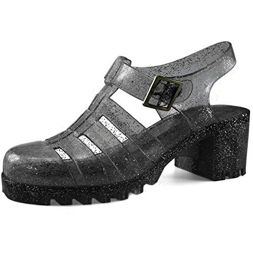 retro jelly heels - 5