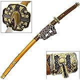 Japanese Tachi Ceremonial Katana Hardened Samurai Sword Functional