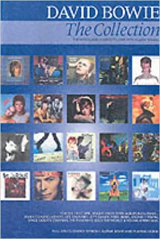 David Bowie: The Collection (Chord Songbook): Amazon.co.uk: David ...