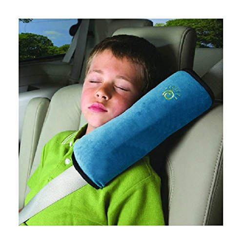 Baby Car Seat Belt Cover (Blue) - 8