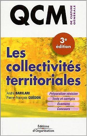 Les collectivités territoriales : QCM de Culture Générale pdf, epub