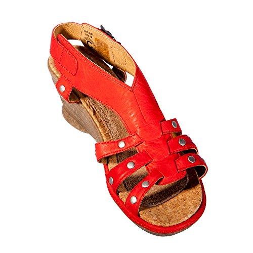 Wolky - Sandalias de vestir para mujer blank Red