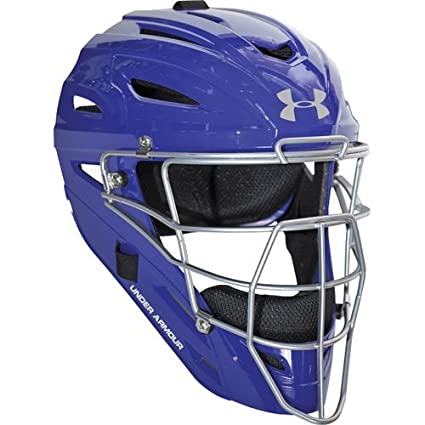 Under Armour Professional Gloss Adult Baseball Catcher's Helmet All-Star Sporting Goods UAHG2-AS