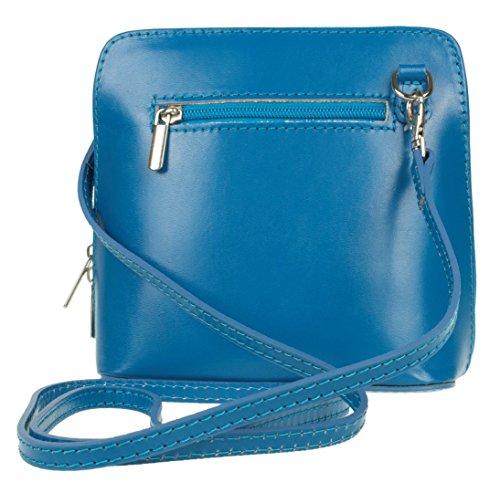 de mujer Sky Blue Handbags para Piel Girly Bolso cruzados azul Cf4awqg