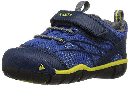 KEEN Baby Chandler CNX Hiking Shoe, Blue Opal/Baleine Blue, 7 M US ()