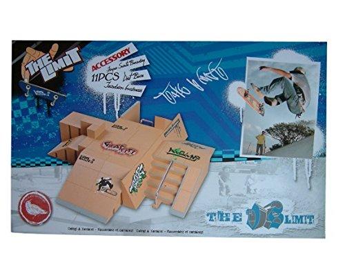 NNDA CO Skate Park Kit,11PCS Skate Park Ramp Parts for Tech Deck Fingerboard Finger Board Ultimate Parks - 1 Pack (4) by NNDA CO (Image #3)