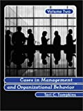 Cases in Management and Organizational Behavior 9780130894649