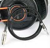 gotor 30AWG multi-core single crystal copper preparation Audio Extension Cord Audio Cable Headphone Cords Headphone Jack Cord Headphone Cable For BOSE QuietComfort 25 QC 25 (black)