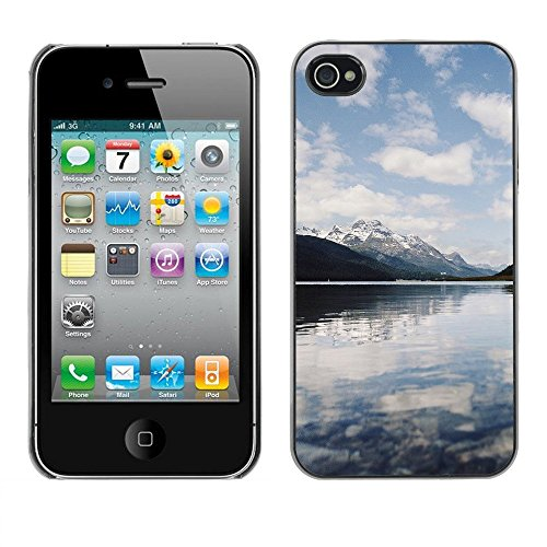 Premio Sottile Slim Cassa Custodia Case Cover Shell // F00003076 Lac // Apple iPhone 4 4S 4G
