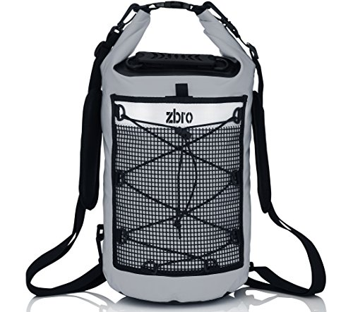 ZBRO Dry Bag - Unique 20L Waterproof Bag - Fits in a Bag or Backpack - Keeps Gear Dry for Rafting, Kayaking, Boating - Floating - Protection against water, dust, and dirt - Lifetime warranty