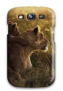 Galaxy S3 Case, Premium Protective Case With Awesome Look - African Lion