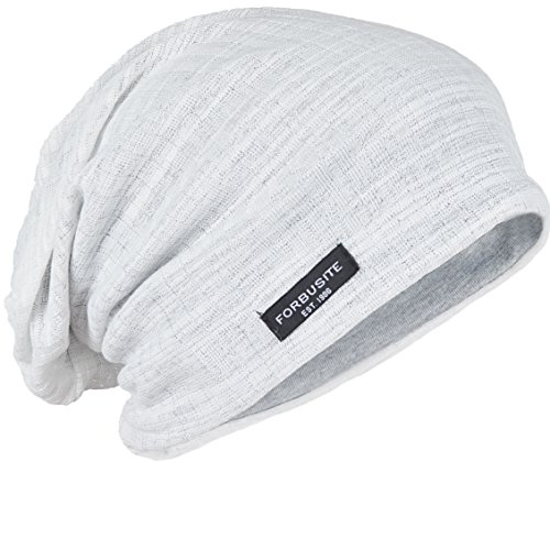 Hat White Slouch - FORBUSITE Baggy Slouch Beanie Hats for Men Summer Winter B018h White