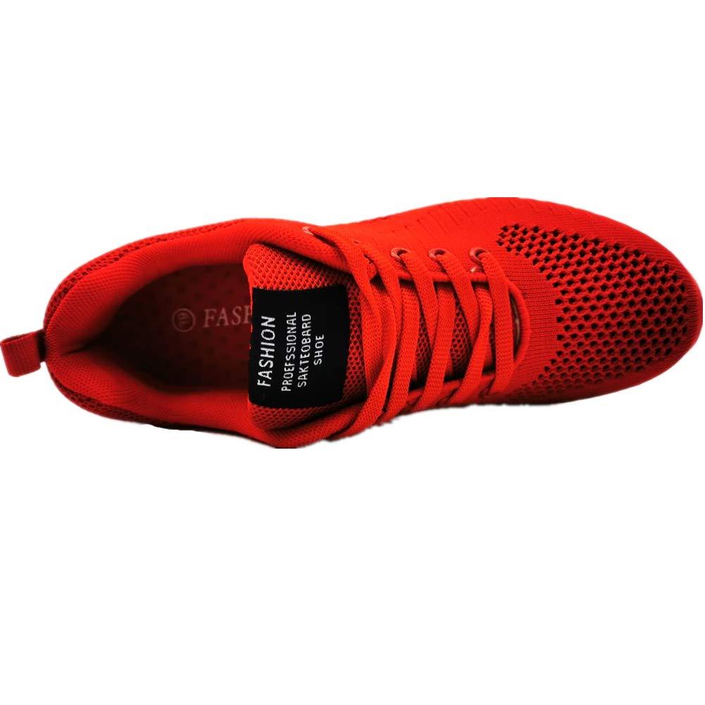 GAXmi Zapatillas Deportivas de Mujer Air Cordones Zapatos de Ligero Running Fitness Zapatillas de para Correr Antideslizantes Amortiguaci/ón Sneakers