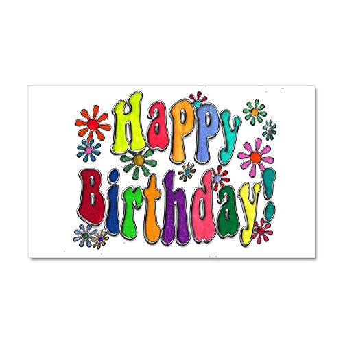 Birthday Locker Decorations (CafePress - Happy Birthday - Car Magnet, 20