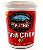 Red Chile Puree, Hot (4) 1 lb 12oz tubs