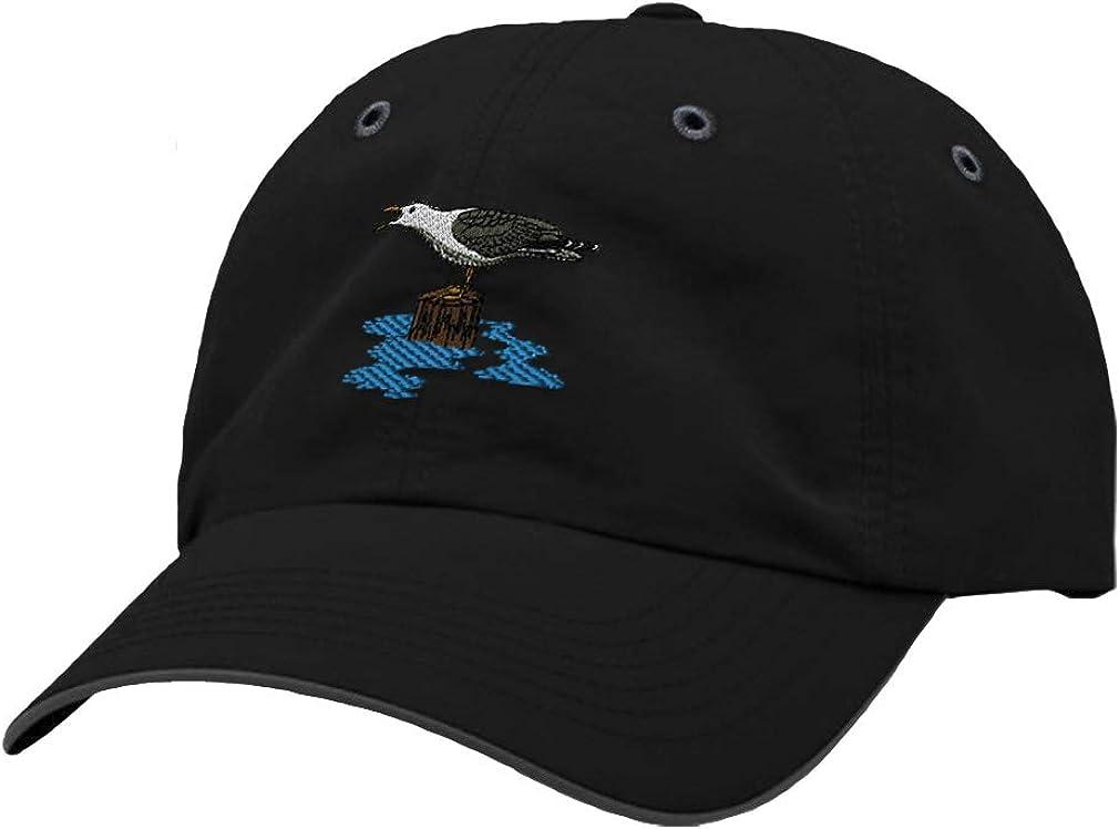 Custom Richardson Running Cap Seagull B Embroidery Animal Name Polyester Hat