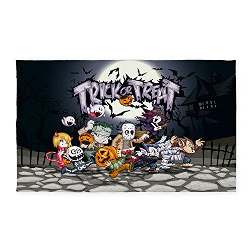 2' x 3' Area Rug Door Mat Halloween Trick or Treat -
