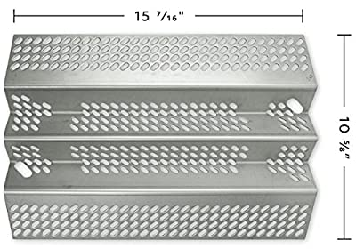 Music City Metals 92461 Stainless Steel Heat Plate Replacement for Select American Outdoor Grill Gas Grill Models
