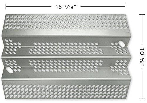 Music City Metals 92461 Stainless Steel Heat Plate Replacement for Select American Outdoor Grill Gas Grill ()
