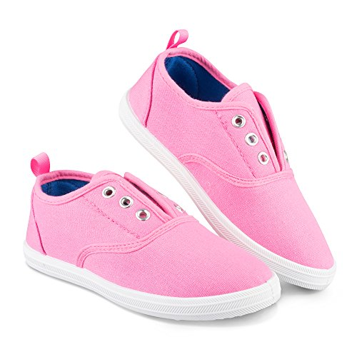 (Chillipop Slip-On Laceless Fashion Sneakers for Girls, Boys, Toddlers & Kids)