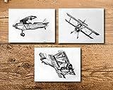 Boy Room Airplane Art