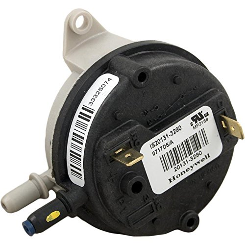 Pentair 42001-0061S Electrical System Air Flow Switch Replacement Pool and Spa Heater by Pentair
