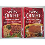 Swiss Chalet Chicken Marinade and Homestyle Gravy Variety Pack, 6 count