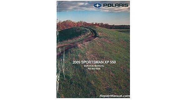 polaris sportsman xp 850 2009 factory service repair manual